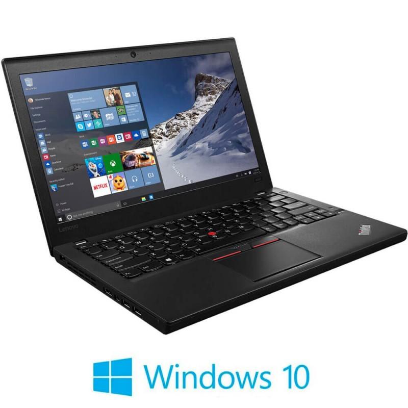 Laptop Refurbished Lenovo ThinkPad X260, i5-6300U Gen. 6, Windows 10 Home