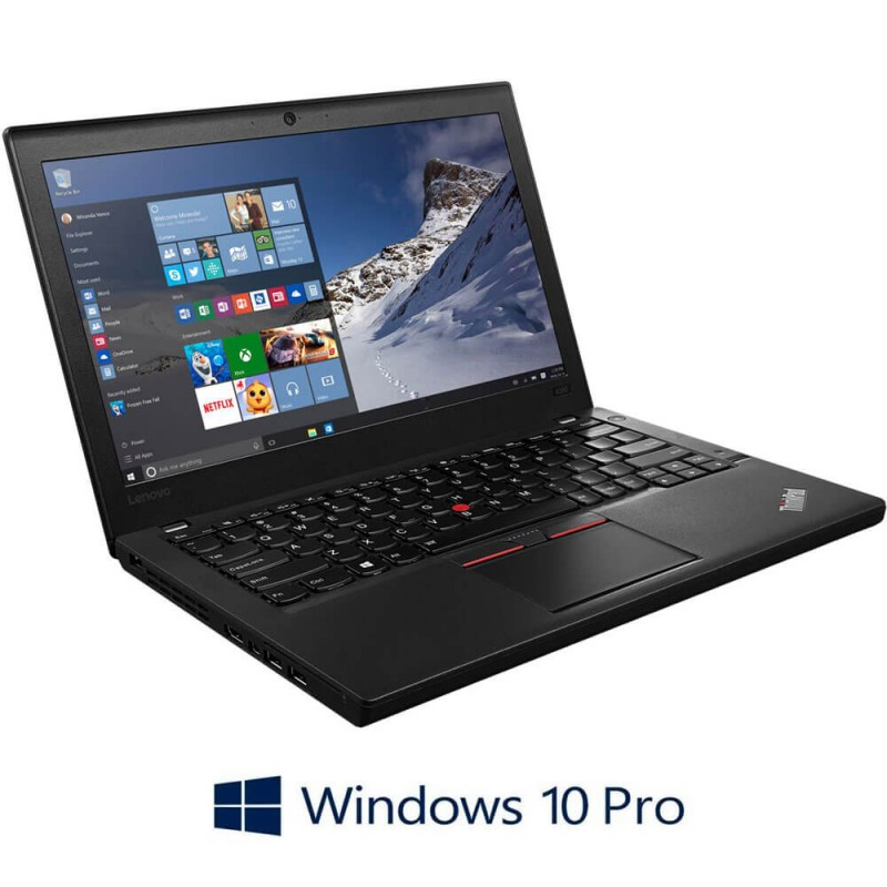 Laptop Refurbished Lenovo ThinkPad X260, i5-6300U Gen. 6, Windows 10 Pro