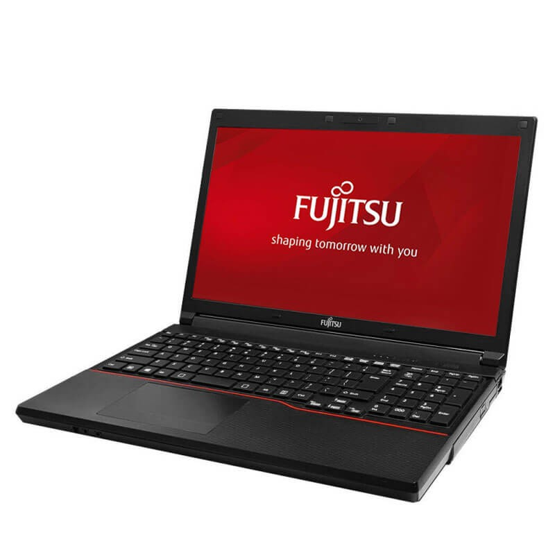Laptop second hand Fujitsu LIFEBOOK A574/K, Intel i3-4000M, 120GB SSD NOU, Webcam
