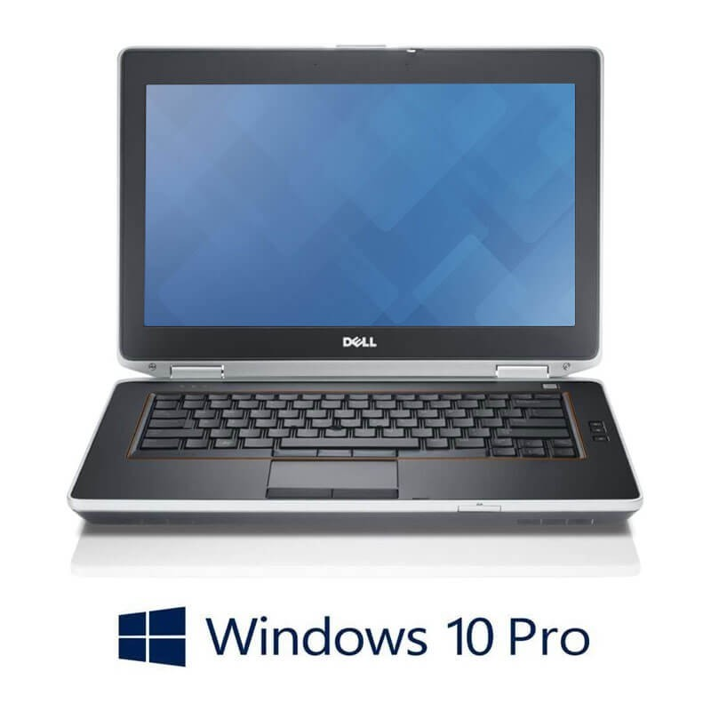 Laptopuri Dell E6420, i5-2520M, Windows 10 Pro, Baterie Noua