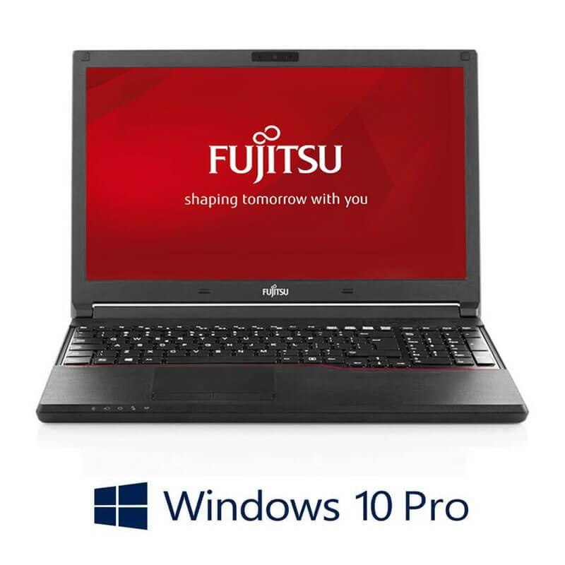 Laptopuri Fujitsu LIFEBOOK A574/K, i3-4000M, 240GB SSD, Full HD, Webcam, Win 10 Pro