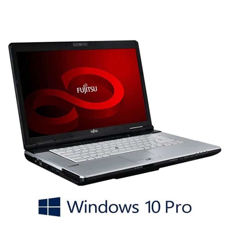 Laptopuri Fujitsu LIFEBOOK S751, i3-2350M, 8GB, 240GB SSD NOU, Webcam, Win 10 Pro