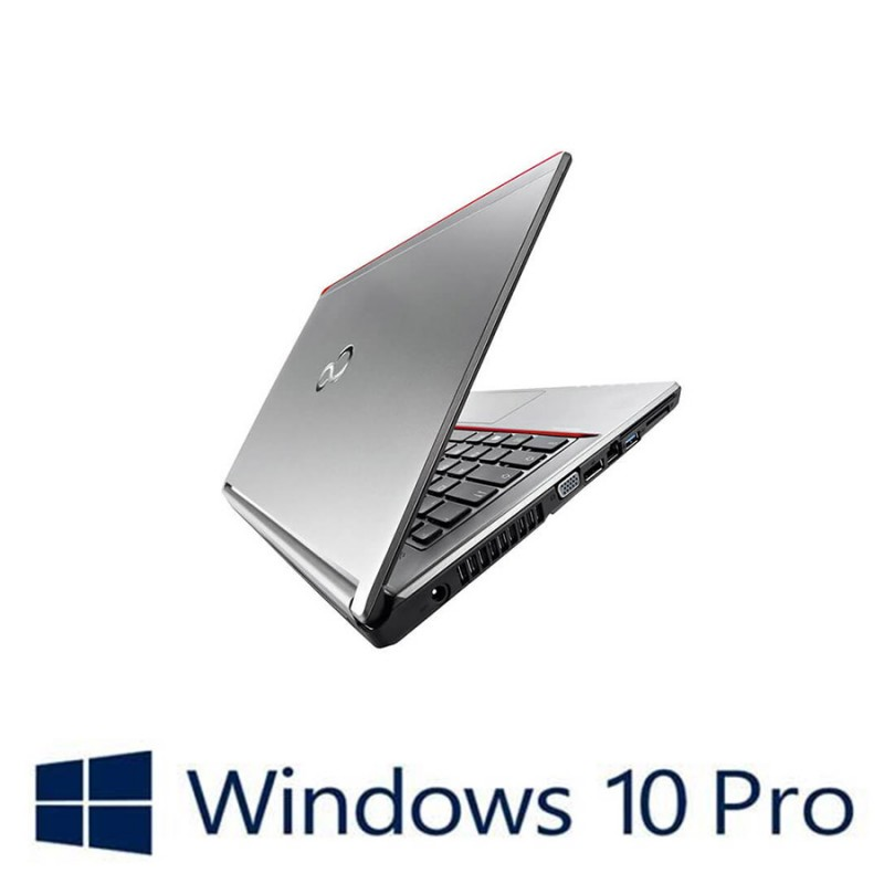 Laptopuri Refurbished Fujitsu LIFEBOOK E746, i5-6200U, Win 10 Pro
