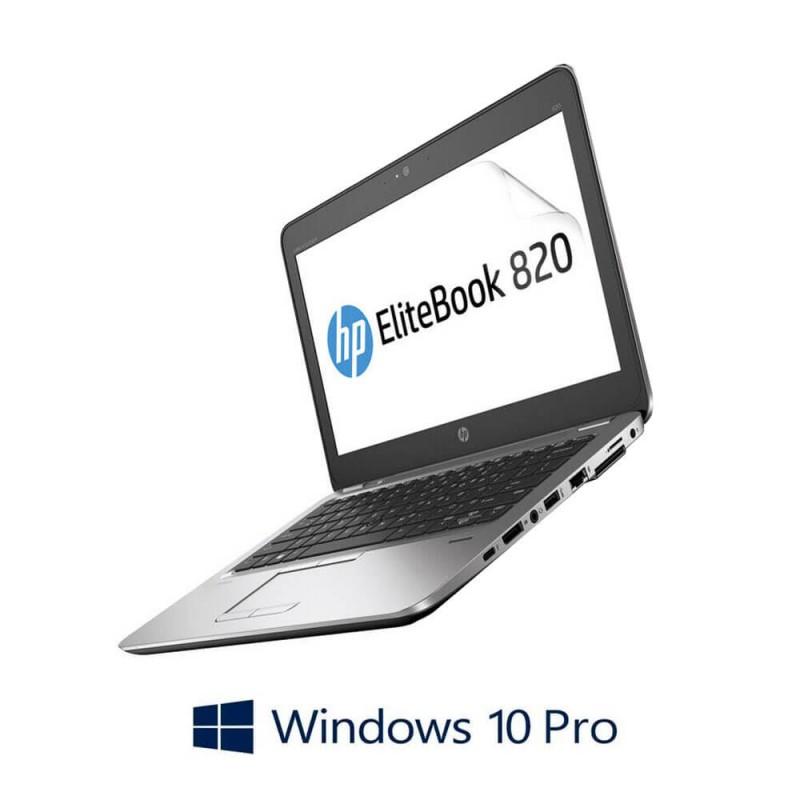 Laptopuri Refurbished HP EliteBook 820 G4, Core i7-7500U Gen. 7, Windows 10 Pro