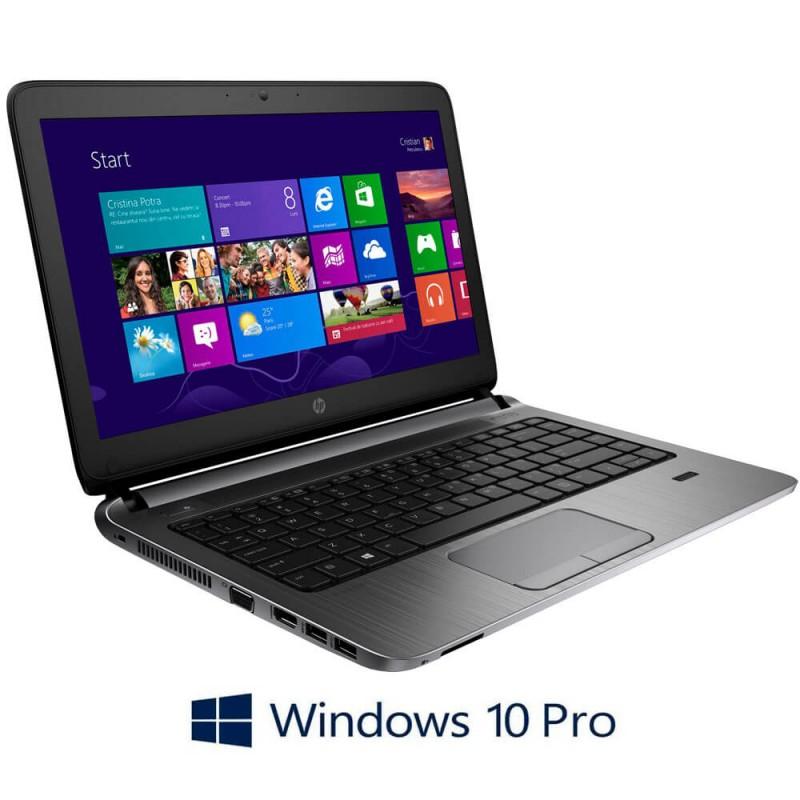 Laptopuri Refurbished HP ProBook 430 G2, Intel Core i3-5010U, Windows 10 Pro