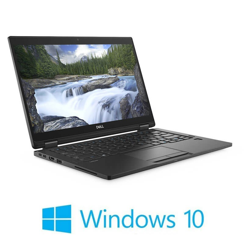 Laptopuri Touchscreen Refurbished Dell Latitude 7390 2-in-1, i5-8250U, SSD, FHD, Win 10 Home