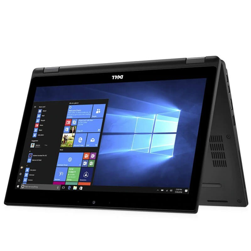 Laptopuri Touchscreen second hand Dell Latitude 5289, i5-7300U, 256GB SSD, Full HD, Webcam