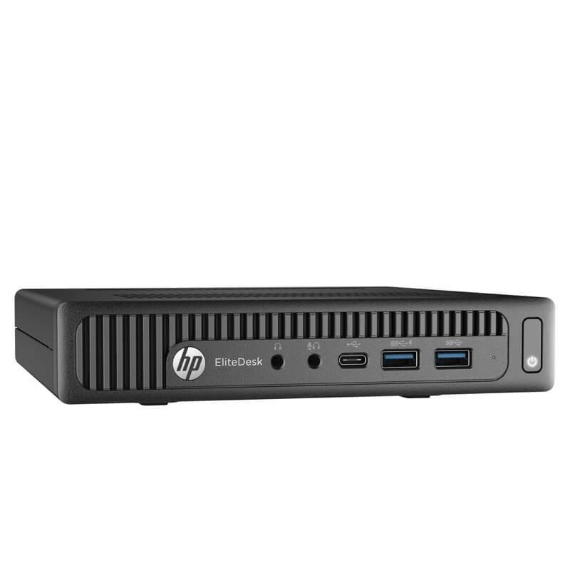 Mini Calculatoare second hand HP EliteDesk 800 G2, Quad Core i5-6500T, 16GB DDR4, 256GB SSD NOU