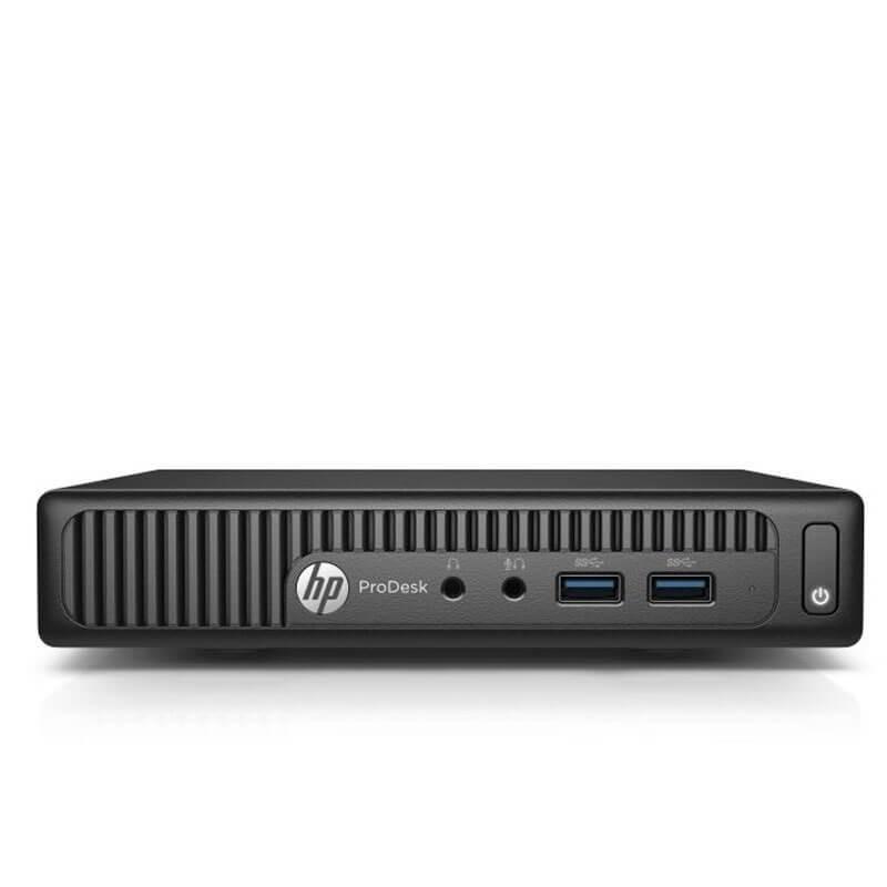 Mini Calculatoare SH HP ProDesk 400 G2, Quad Core i5-6500T, 16GB DDR4, 256GB SSD