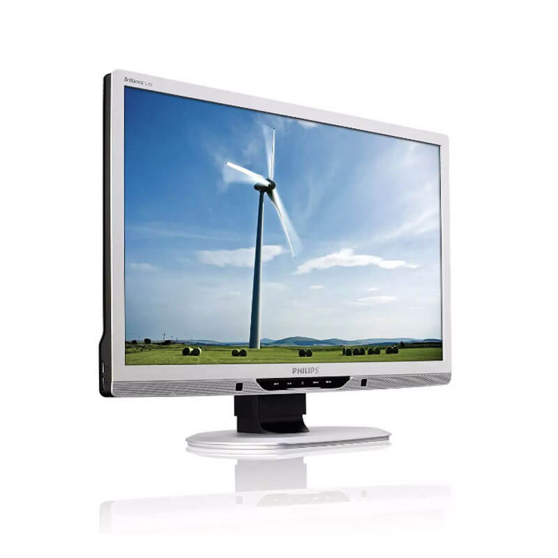 Monitor LCD Refurbished Philips Brilliance 225B2CS, 22 inch WideScreen