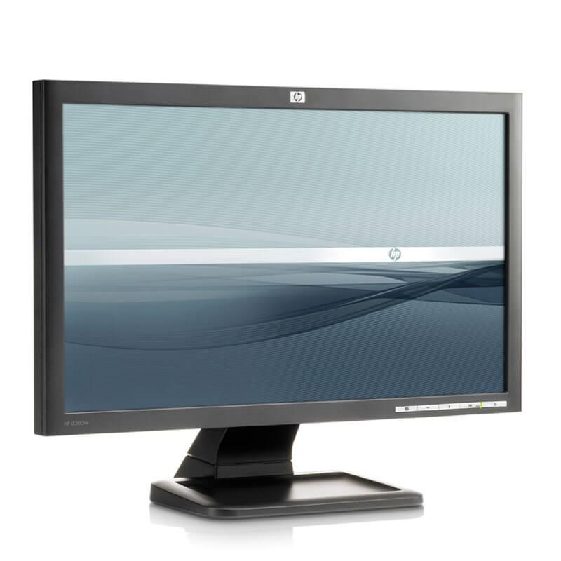 Monitor LCD second hand HP LE2001W, Grad A-, 20 inci Widescreen