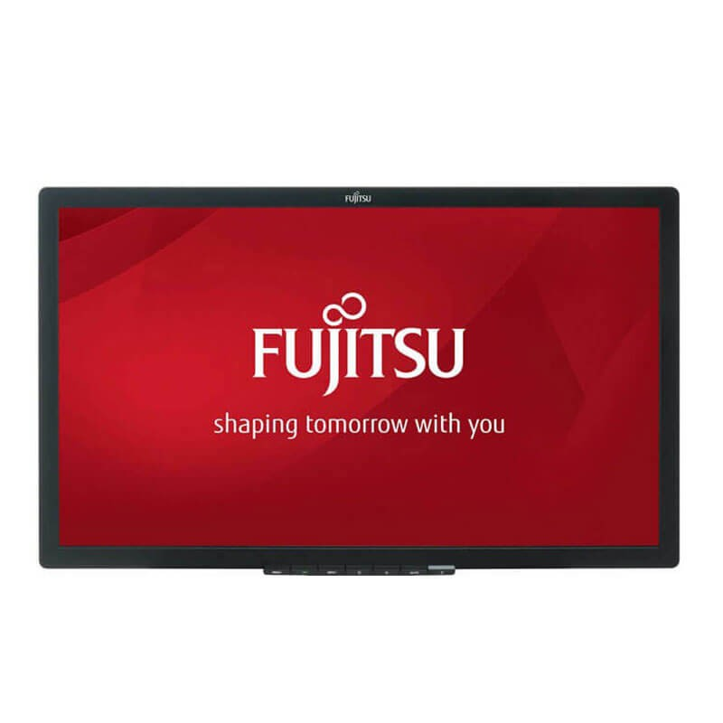 Monitor LED Fujitsu B24T-7, 24 inci Full HD, Fara Picior