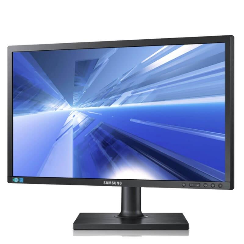 Monitor LED Samsung S24C450BW, 24 inci Full HD
