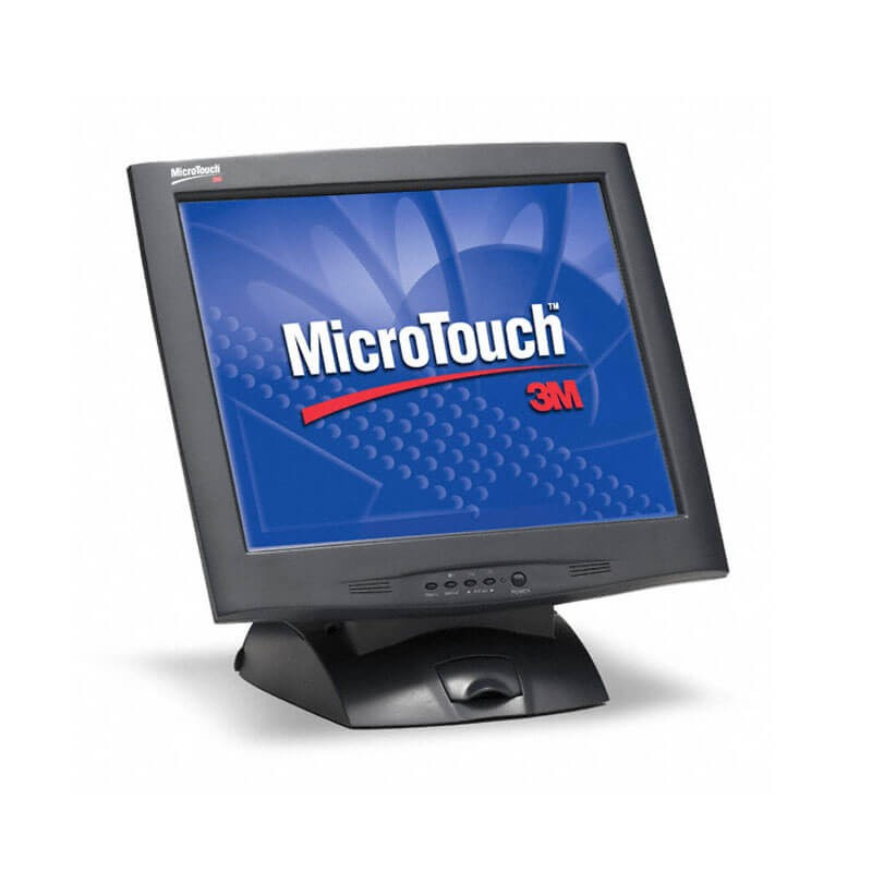 Monitor SH Touchscreen 3M MicroTouch M1700SS, Grad A-, 17 inch