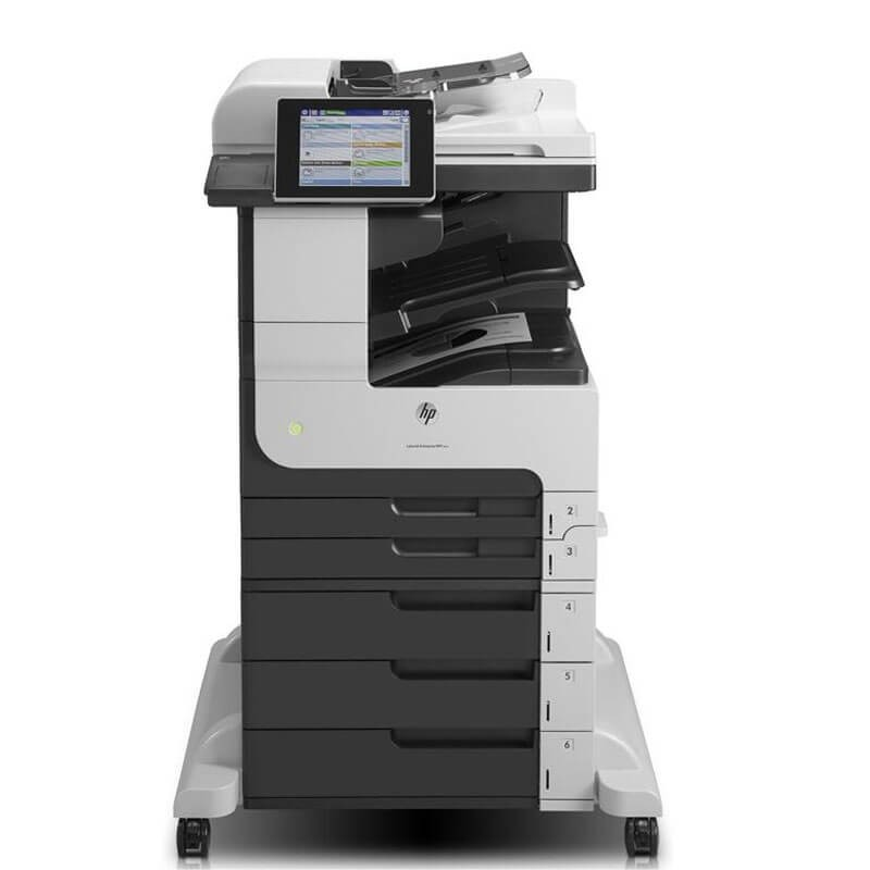 Multifunctionala A3 second hand HP LaserJet Enterprise 700 MFP M725dn, Cartus NOU Full
