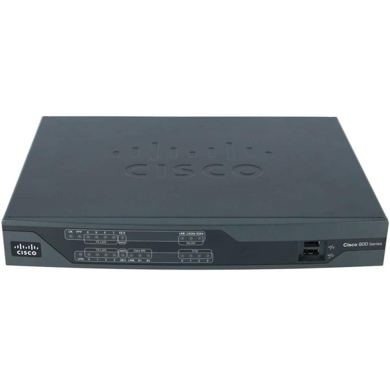 Router Cisco 800 Series, C886VA-K9, Multimode VDSL2/ADSL2/2+ over ISDN