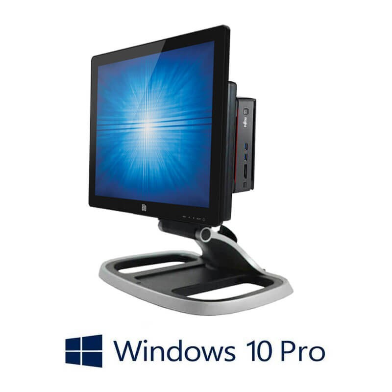 Sisteme POS Fujitsu ESPRIMO Q920, i5-4590T, SSD, Elo 1717L, Win 10 Pro