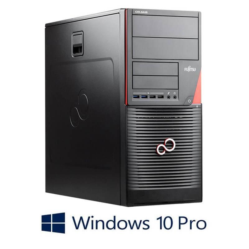 Statie grafica Fujitsu CELSIUS W550n, i7-6700, 512GB SSD, Quadro M2000, Win 10 Pro