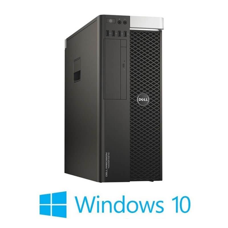 Statie grafica Refurbished Dell Precision 5810 MT, E5-2680 v3, 64GB, Quadro K4200, Win 10 Home