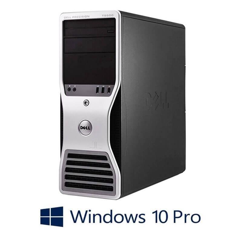 Statie grafica refurbished Dell Precision T5500, Xeon Hexa Core X5650, 24GB, Win 10 Pro