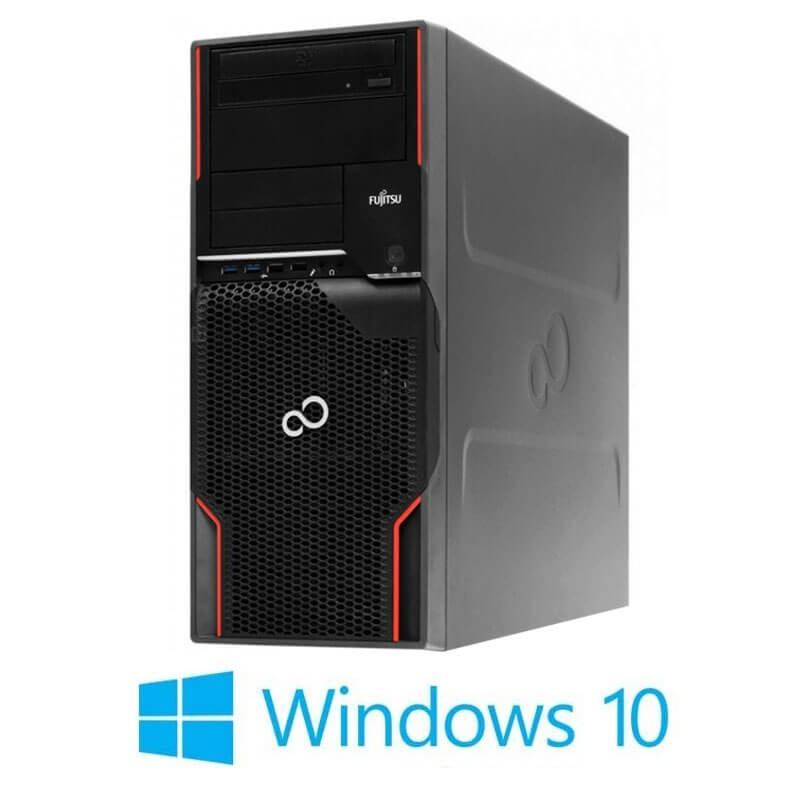 Statie grafica Refurbished Fujitsu CELSIUS W520, E3-1225 v2, SSD, GeForce GT 240, Win 10 Home