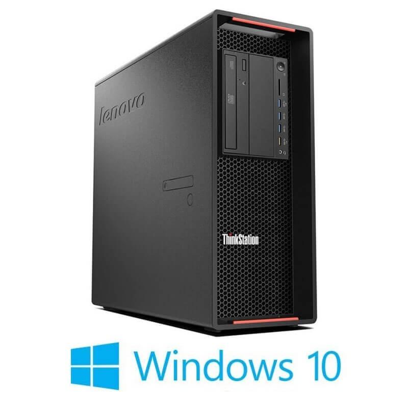 Statie grafica Refurbished Lenovo ThinkStation P500, E5-1630 v3, SSD, Quadro K4200, Win 10 Home