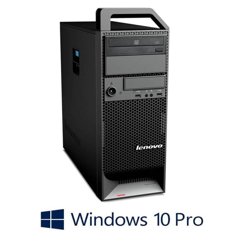 Statie grafica Refurbished Lenovo ThinkStation S20, Xeon X5650, Quadro 2000, Win 10 Pro