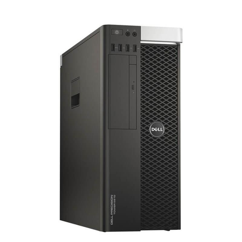 Statie grafica second hand Dell Precision 5810 MT, E5-2680 v3 12-Core, 64GB DDR4, Quadro K4200