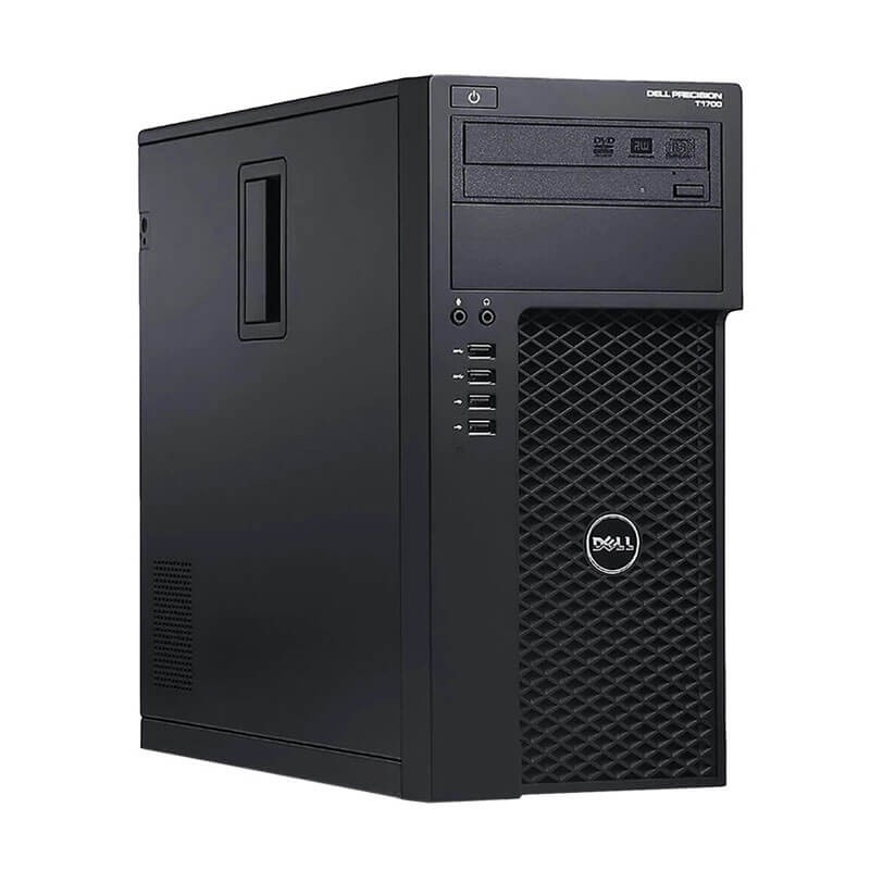 Statie grafica second hand Dell Precision T1700, Xeon Quad Core E3-1245 v3, GeForce 605 DP