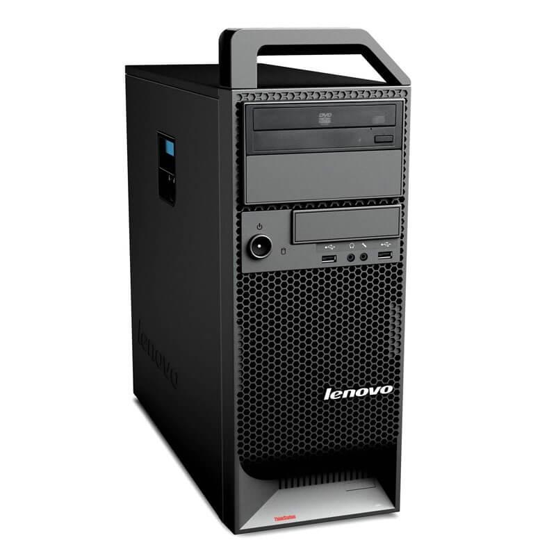 Statie grafica second hand Lenovo ThinkStation S20, Hexa Core X5650, NVidia Quadro 2000