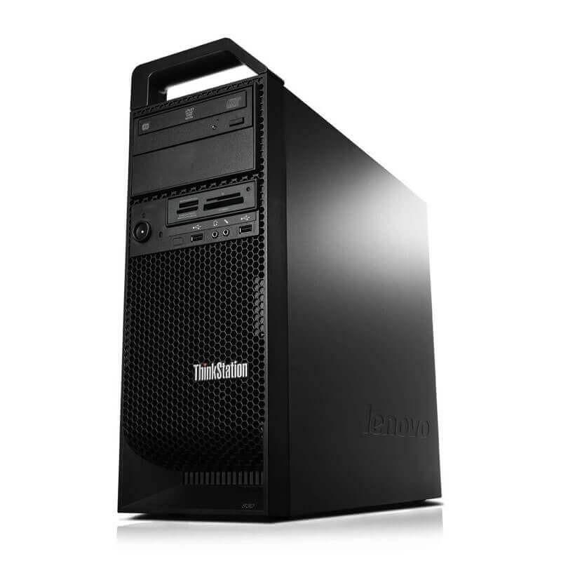 Statie grafica second hand Lenovo ThinkStation S30, Xeon E5-1620 v2, 32GB DDR3, Quadro K4000