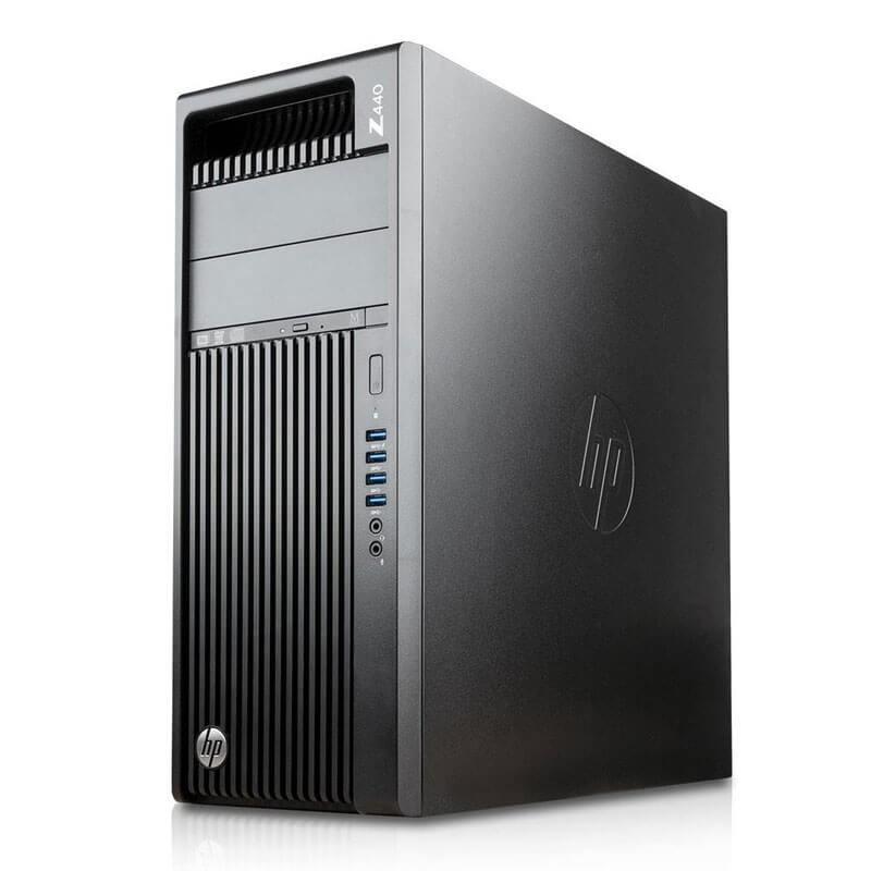 Statie grafica SH HP Z440, Xeon Quad Core E5-1620 v3, SSD, Quadro K4200