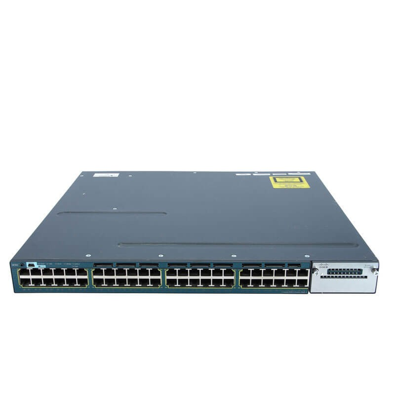Switch Refurbished Cisco Catalyst WS-C3560X-48PF-S 10/100/1000Mbps PoE