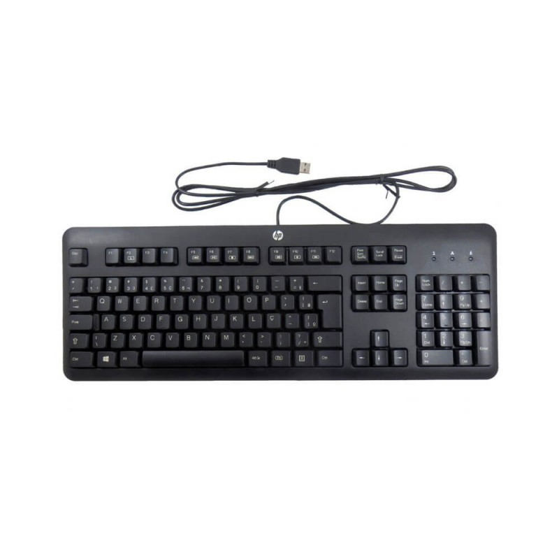 Tastatura HP KU-1156 USB, Layout QWERTY UK