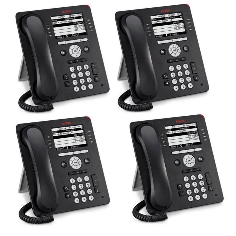 Telefoane IP Avaya 9600 Series, 9608G, Interfata Gigabit