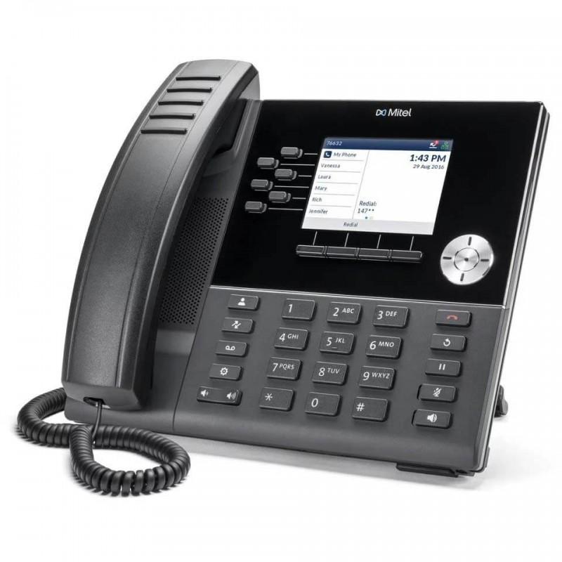 Telefon IP Mitel MiVoice 6920, 3.5 inch LCD Color, HD Audio
