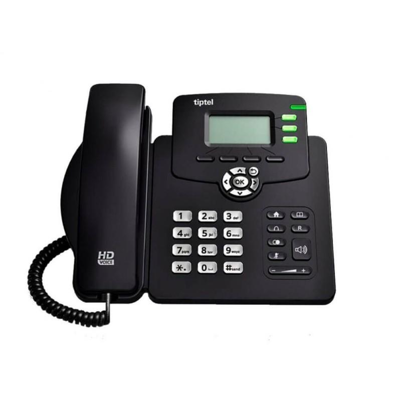 Telefon IP Tiptel 3220 HD, 2-line, 2.3 inch LCD