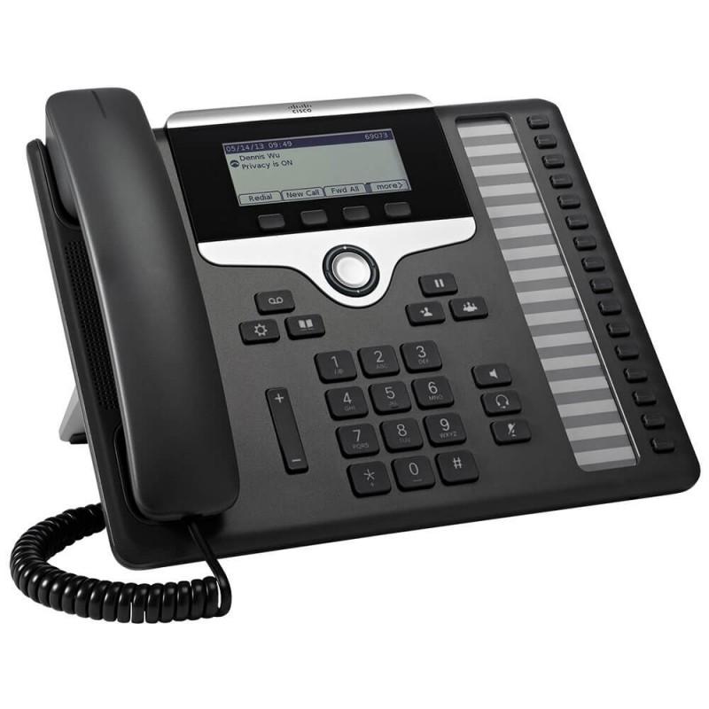 Telefon VoIP Cisco CP-7861-3PCC-K9, Negru